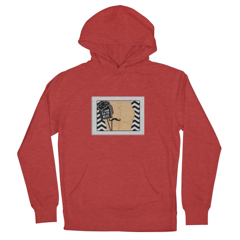 Wish You Were Butts Men's Pullover Hoody by Thirty Silver