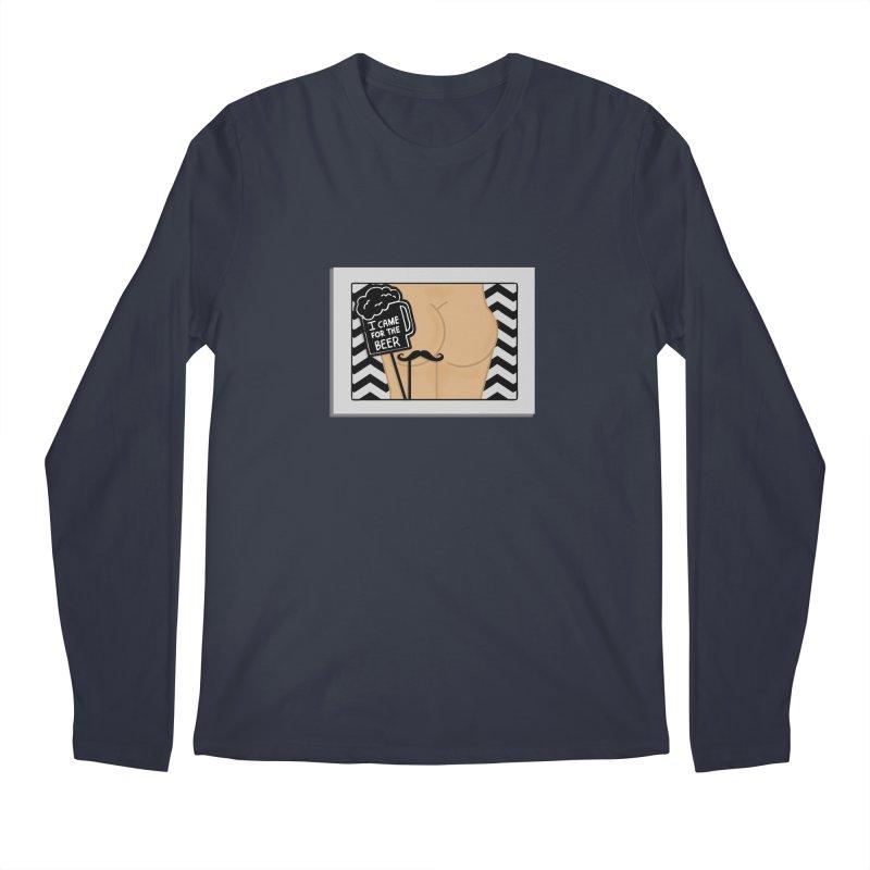 Wish You Were Butts Men's Regular Longsleeve T-Shirt by Thirty Silver