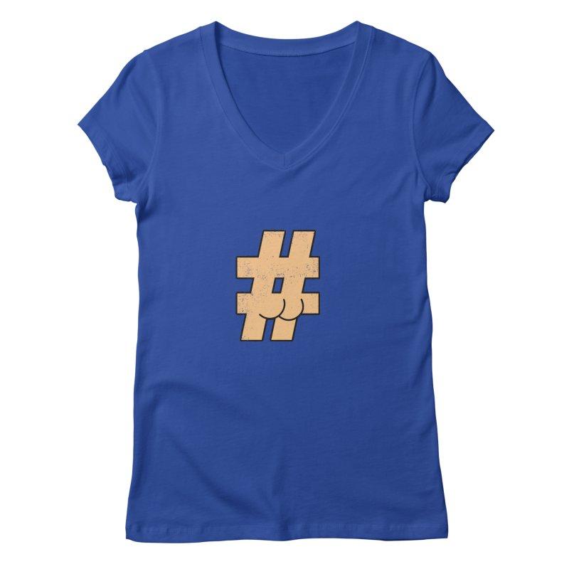 hashtagdatassdoh Women's V-Neck by Thirty Silver