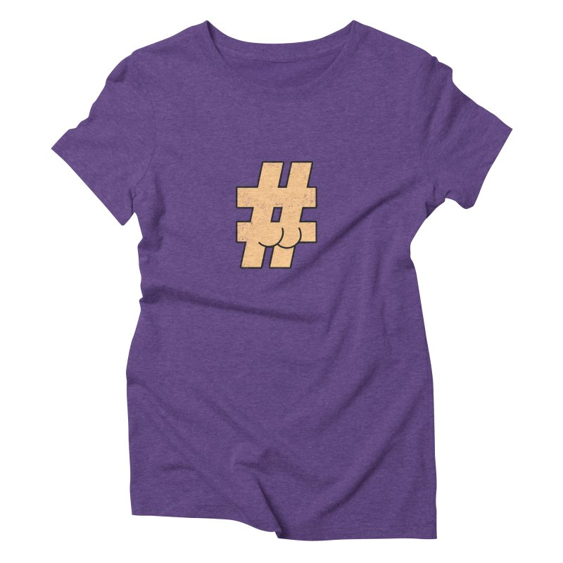 hashtagdatassdoh Women's Triblend T-Shirt by Thirty Silver