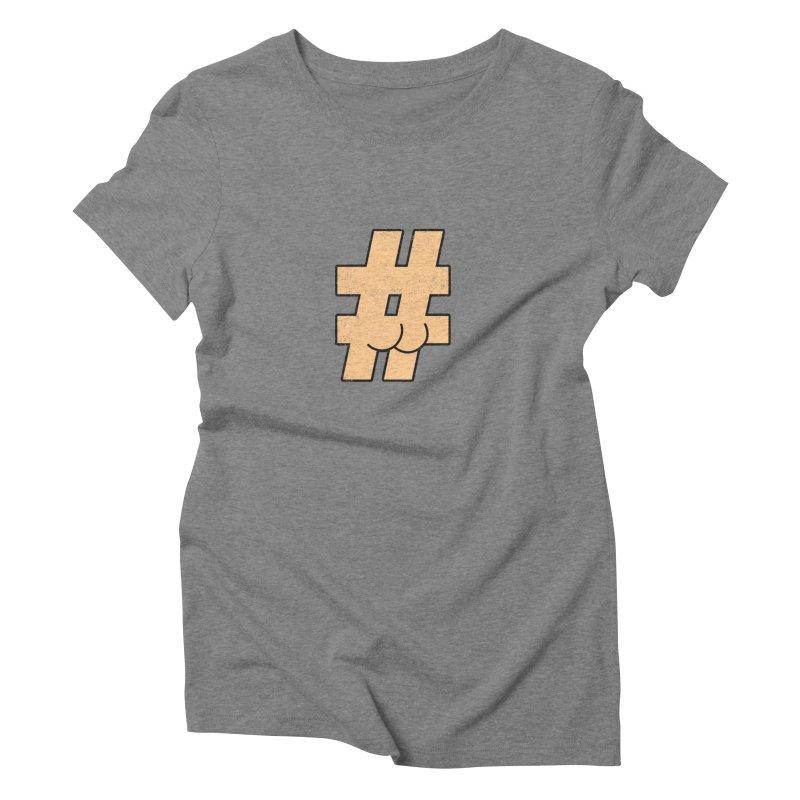 hashtagdatassdoh Women's Triblend T-Shirt by Thirty Silver