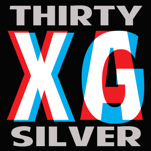Thirty Silver Logo