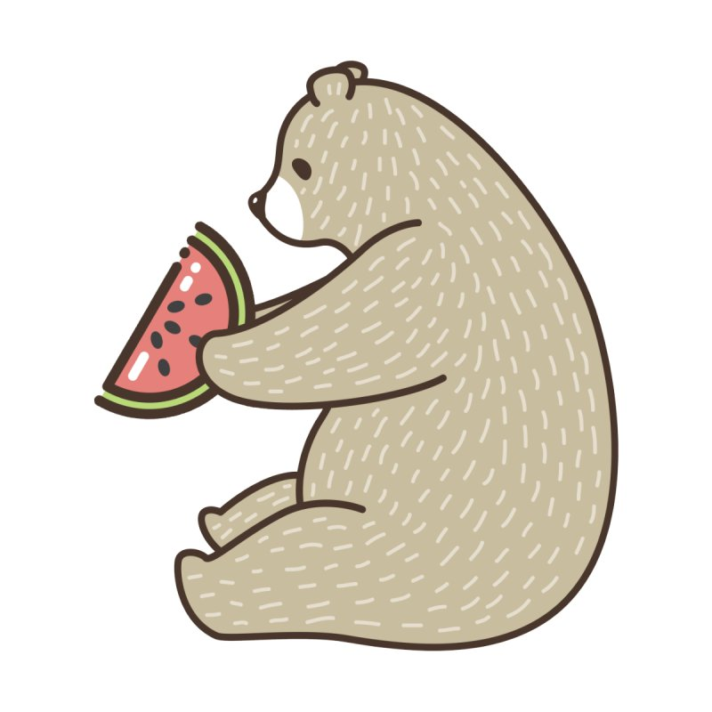 Bear Fruit (Watermelon) by XXXIII Apparel
