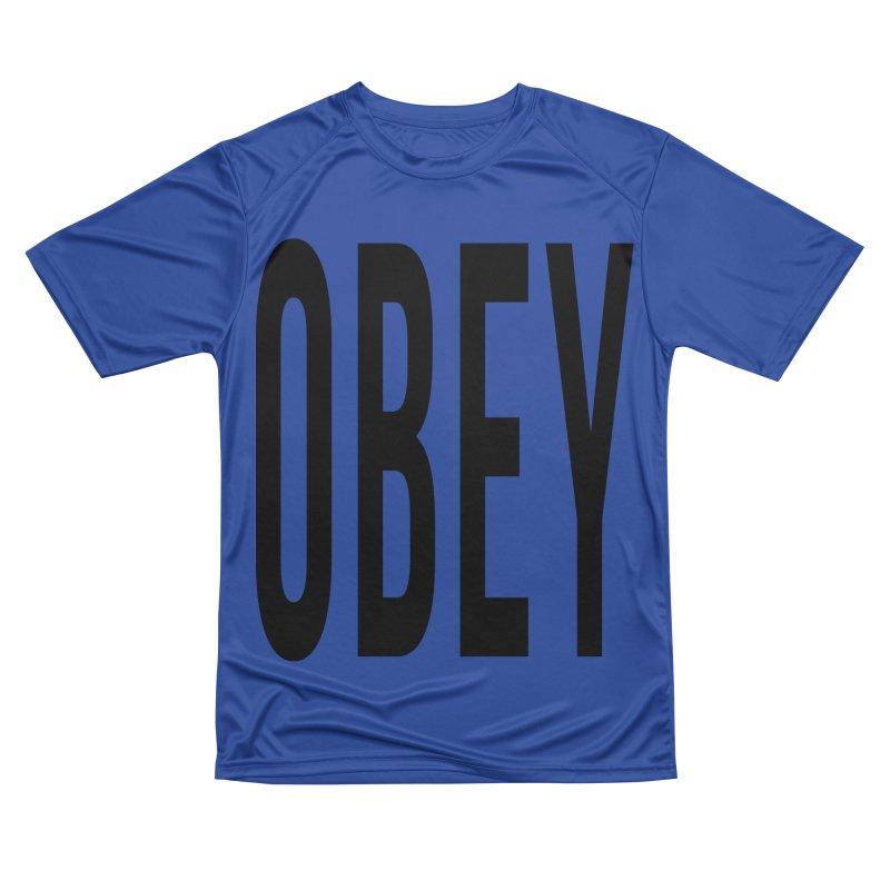 Obey Men's Performance T-Shirt by XXXIII Apparel