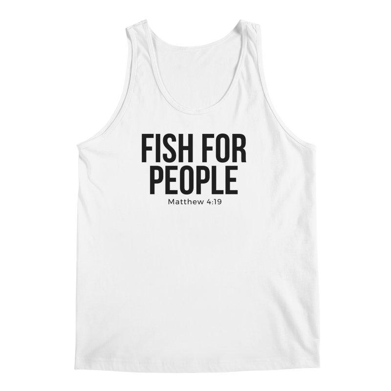 Fish for People Men's Regular Tank by XXXIII Apparel
