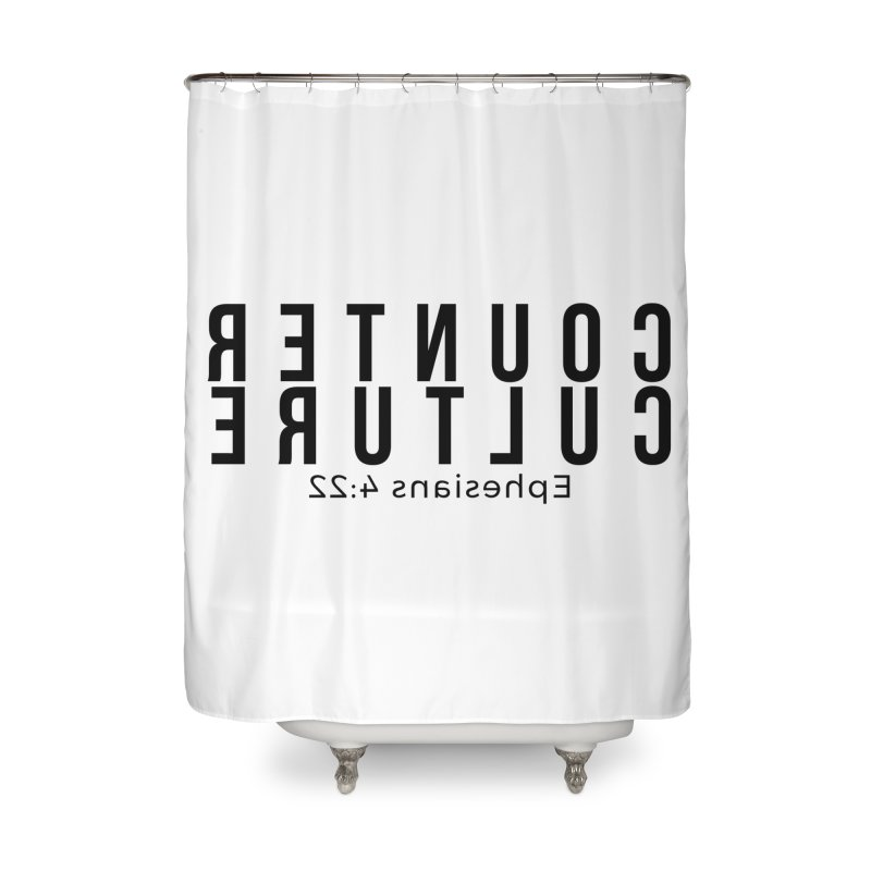 Counter Culture Home Shower Curtain by XXXIII Apparel