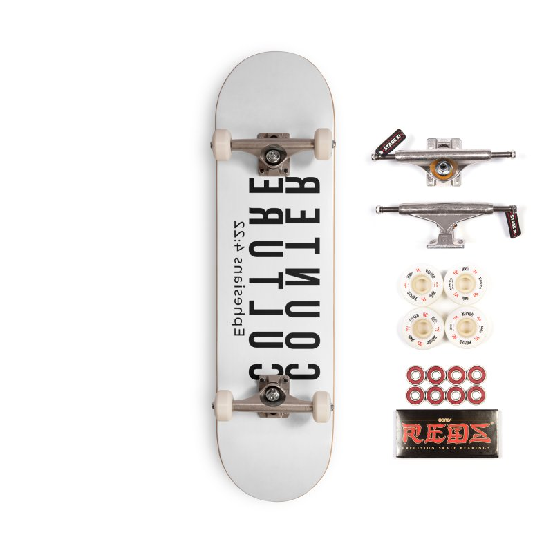 Counter Culture Accessories Complete - Pro Skateboard by XXXIII Apparel