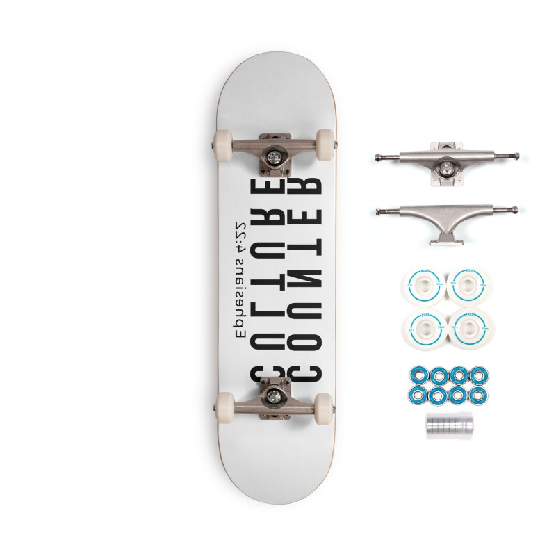 Counter Culture Accessories Complete - Basic Skateboard by XXXIII Apparel