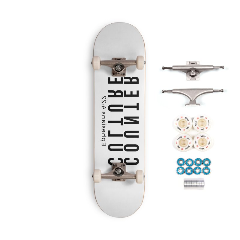 Counter Culture Accessories Complete - Premium Skateboard by XXXIII Apparel