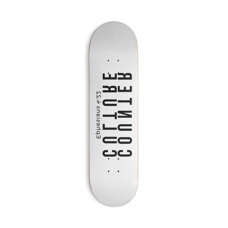 Counter Culture Accessories Deck Only Skateboard by XXXIII Apparel