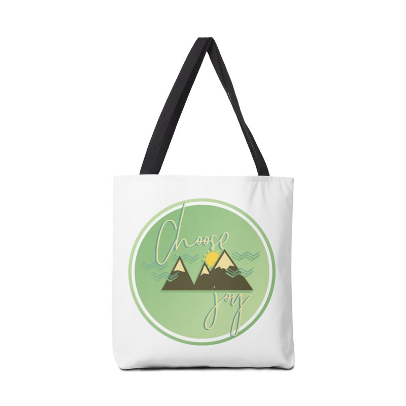 Choose Joy Accessories Tote Bag Bag by XXXIII Apparel
