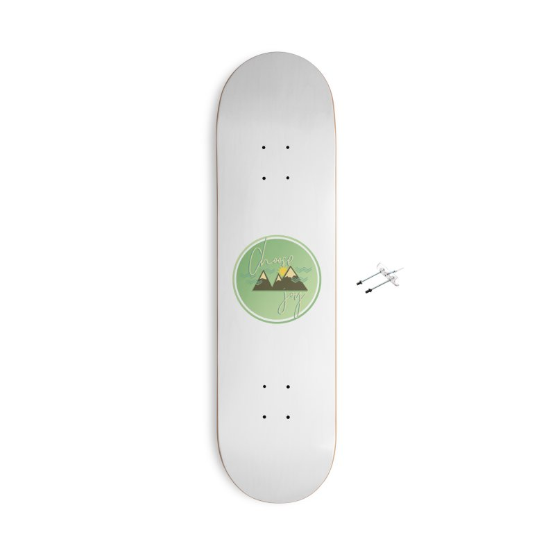 Choose Joy Accessories With Hanging Hardware Skateboard by XXXIII Apparel