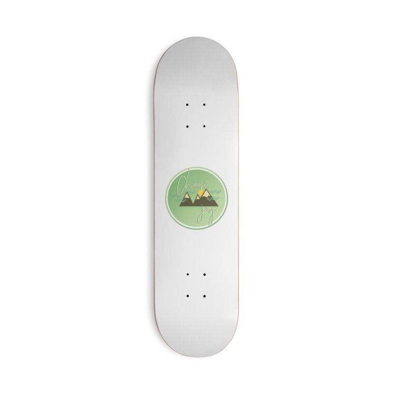 Choose Joy Accessories Deck Only Skateboard by XXXIII Apparel