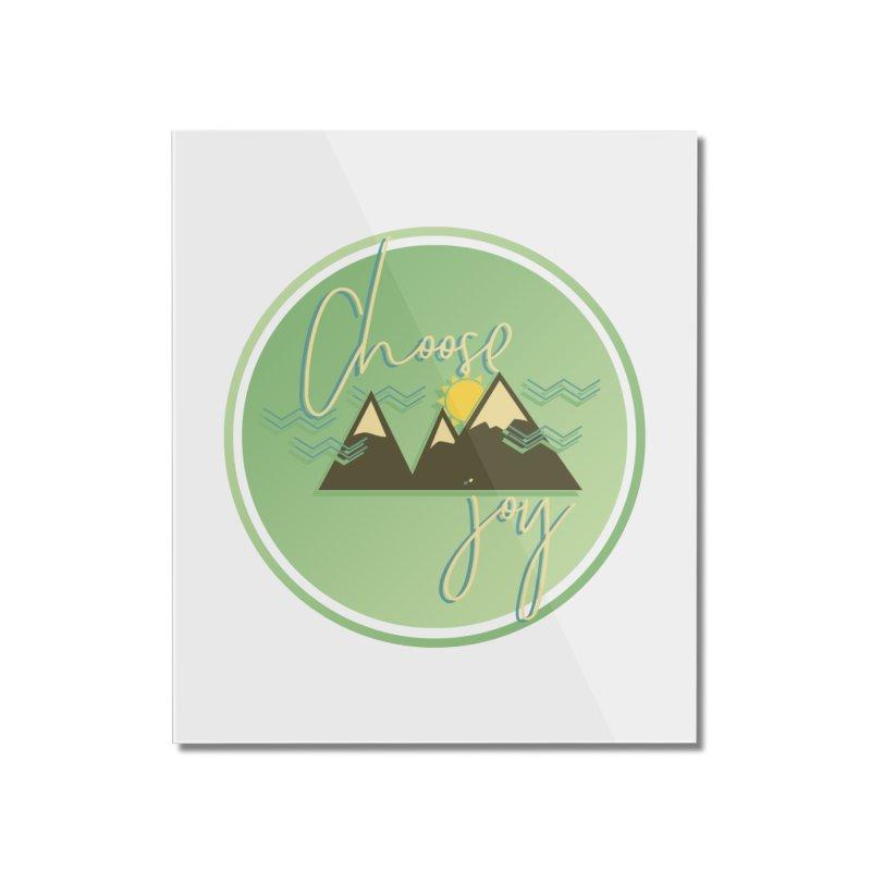 Choose Joy Home Mounted Acrylic Print by XXXIII Apparel