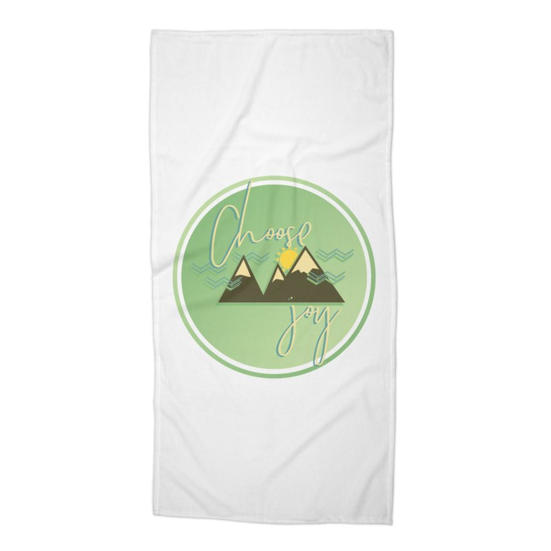 Choose Joy Accessories Beach Towel by XXXIII Apparel
