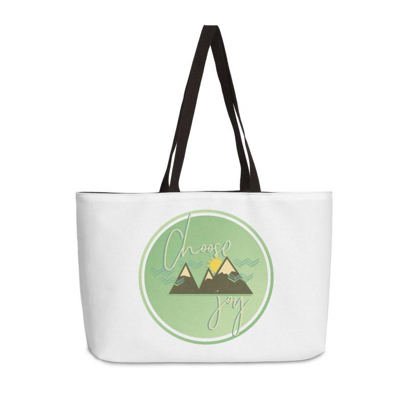 Choose Joy Accessories Weekender Bag Bag by XXXIII Apparel