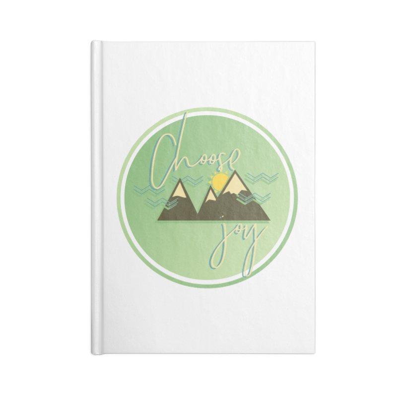 Choose Joy Accessories Blank Journal Notebook by XXXIII Apparel