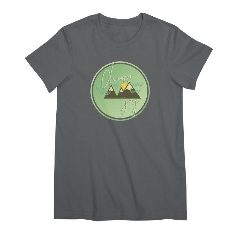 Choose Joy Women's Premium T-Shirt by XXXIII Apparel