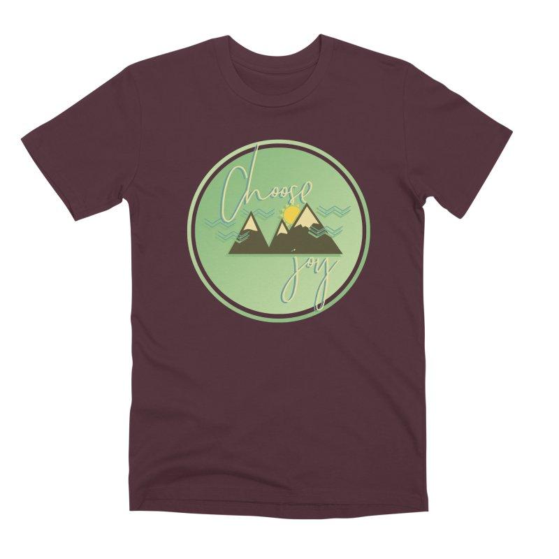 Choose Joy Men's Premium T-Shirt by XXXIII Apparel