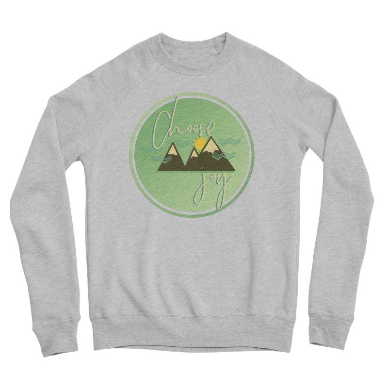 Choose Joy Men's Sponge Fleece Sweatshirt by XXXIII Apparel