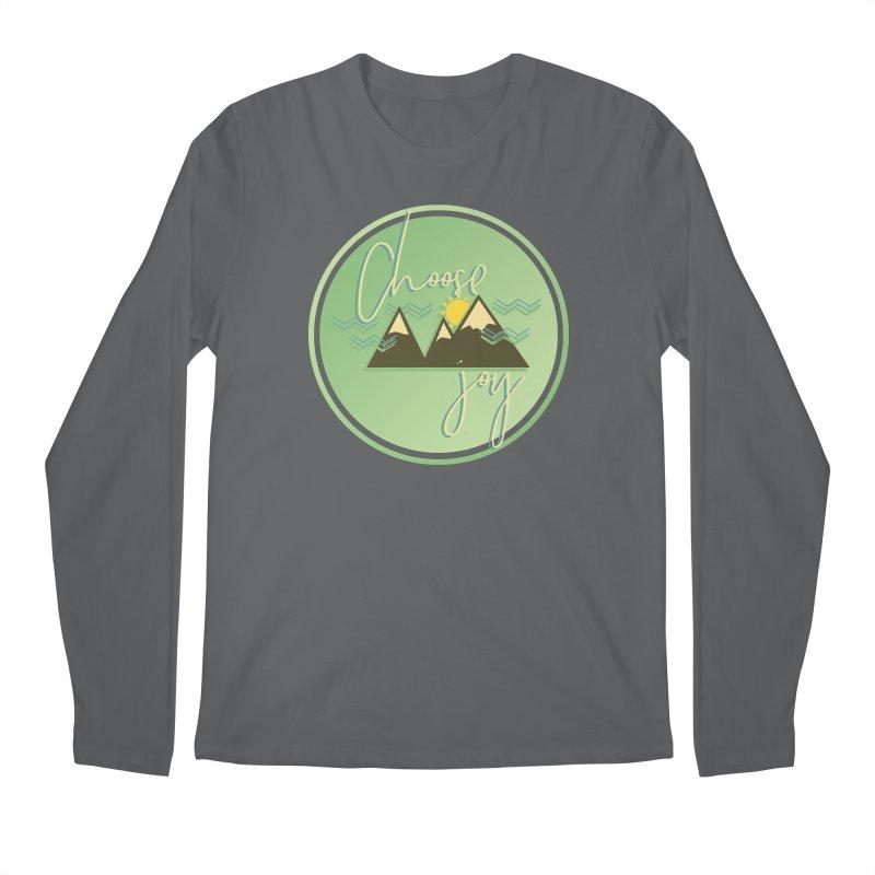 Choose Joy Men's Regular Longsleeve T-Shirt by XXXIII Apparel