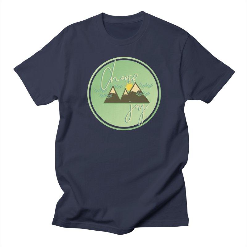 Choose Joy Men's Regular T-Shirt by XXXIII Apparel