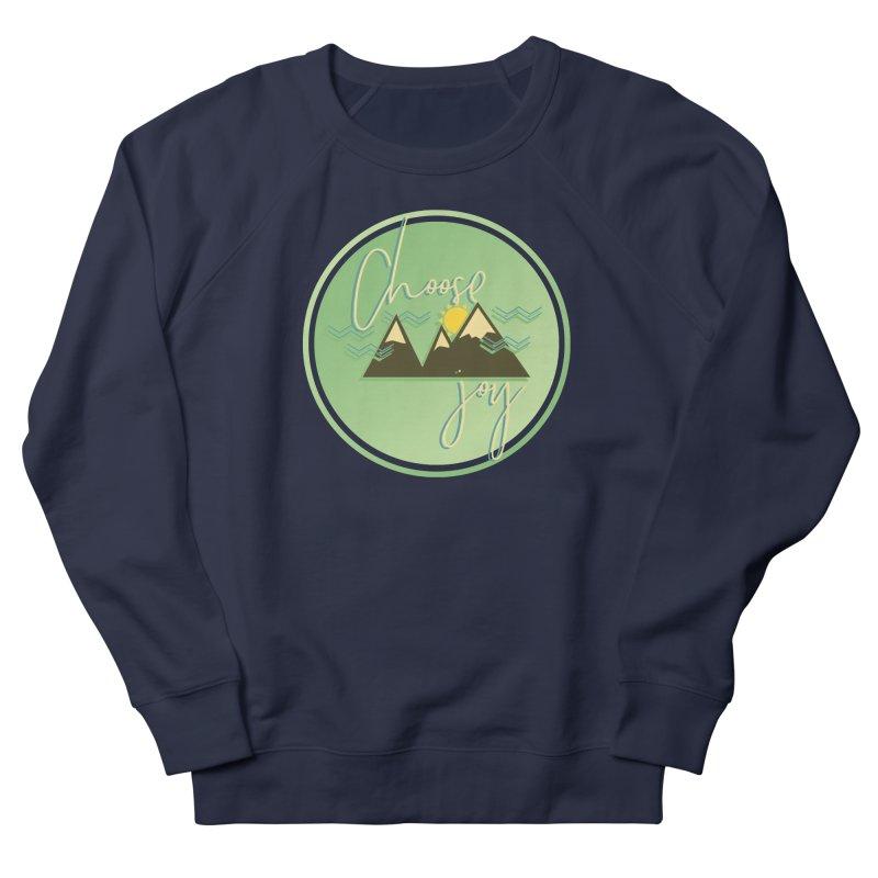 Choose Joy Men's French Terry Sweatshirt by XXXIII Apparel