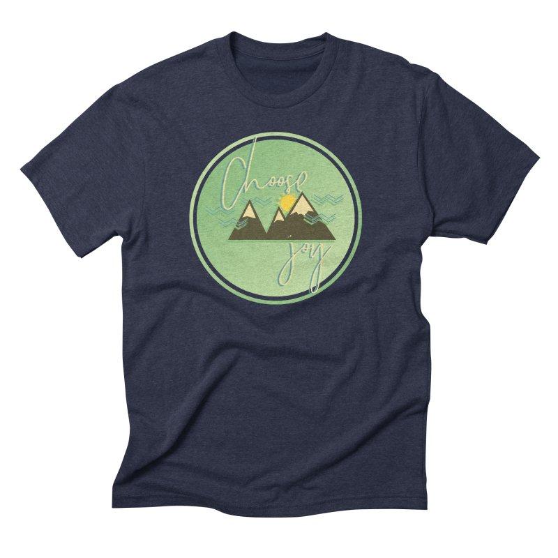 Choose Joy Men's Triblend T-Shirt by XXXIII Apparel