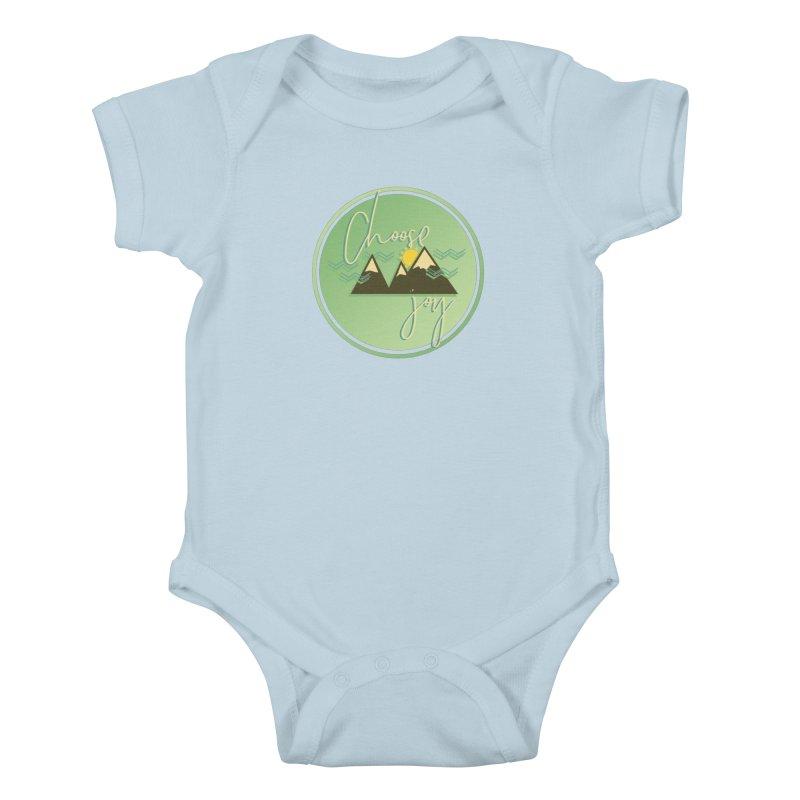 Choose Joy Kids Baby Bodysuit by XXXIII Apparel