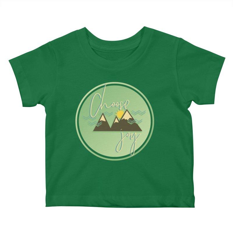 Choose Joy Kids Baby T-Shirt by XXXIII Apparel