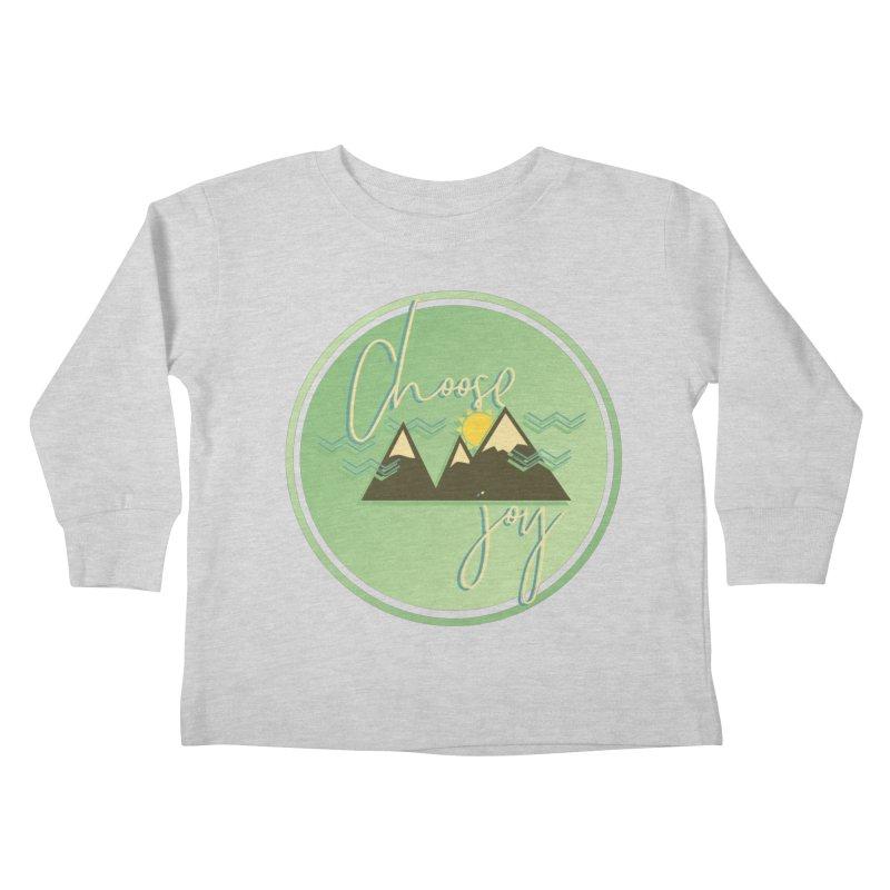 Choose Joy Kids Toddler Longsleeve T-Shirt by XXXIII Apparel