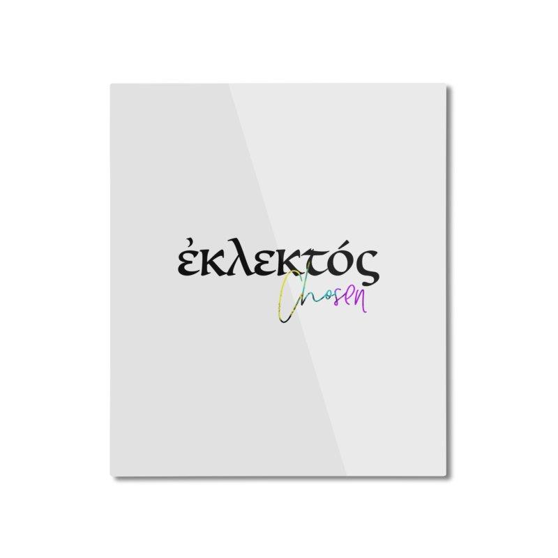 Eklektos - Chosen (White) Home Mounted Aluminum Print by XXXIII Apparel