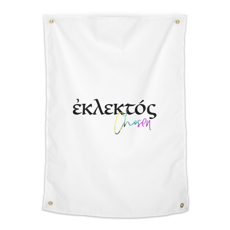 Eklektos - Chosen (White) Home Tapestry by XXXIII Apparel