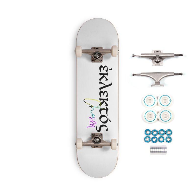 Eklektos - Chosen (White) Accessories Complete - Basic Skateboard by XXXIII Apparel