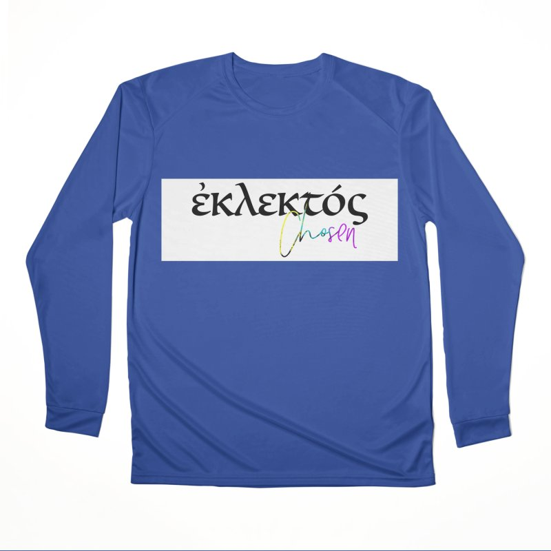 Eklektos - Chosen (White) Men's Performance Longsleeve T-Shirt by XXXIII Apparel