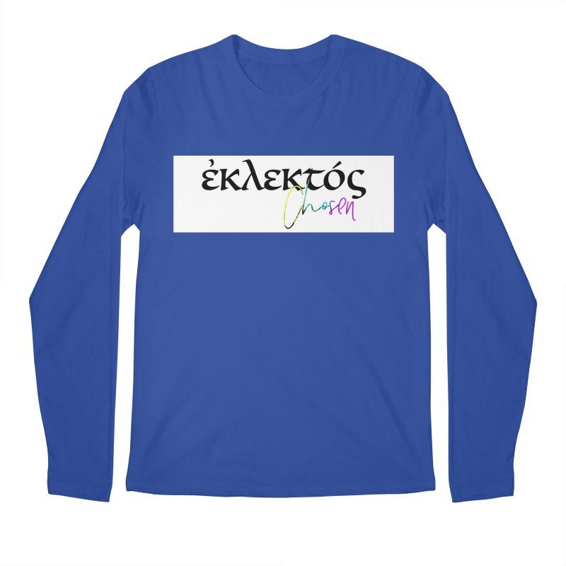 Eklektos - Chosen (White) Men's Regular Longsleeve T-Shirt by XXXIII Apparel