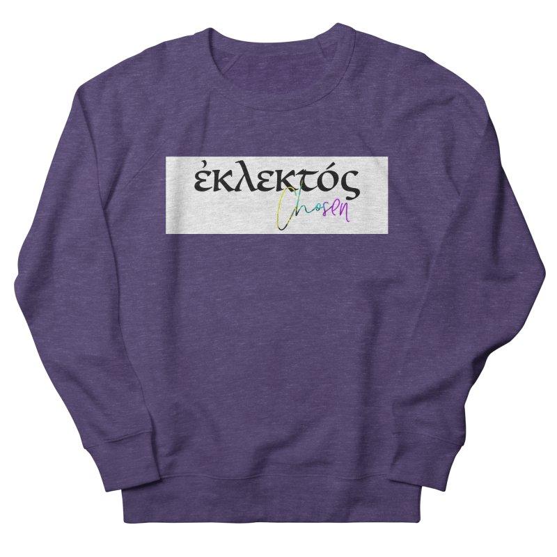 Eklektos - Chosen (White) Men's French Terry Sweatshirt by XXXIII Apparel