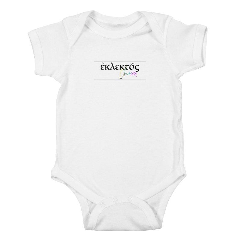 Eklektos - Chosen (White) Kids Baby Bodysuit by XXXIII Apparel