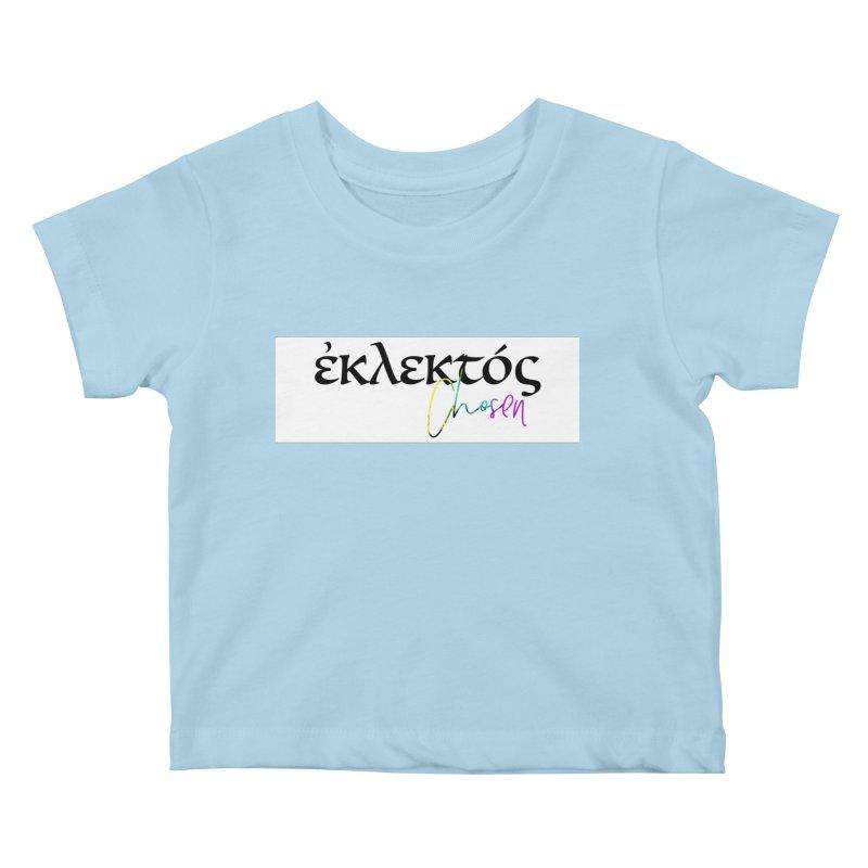 Eklektos - Chosen (White) Kids Baby T-Shirt by XXXIII Apparel