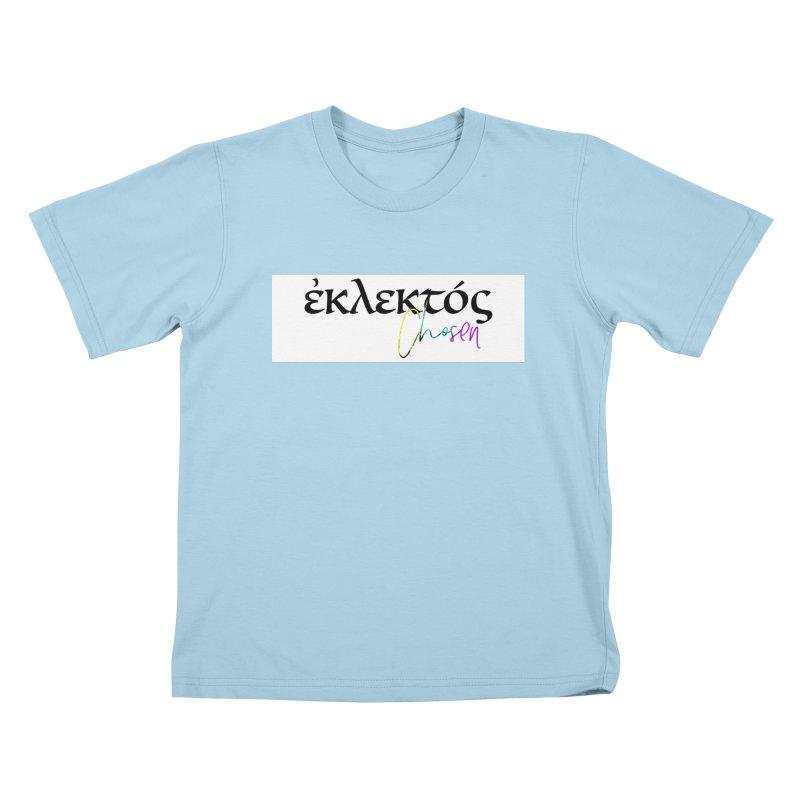 Eklektos - Chosen (White) Kids T-Shirt by XXXIII Apparel