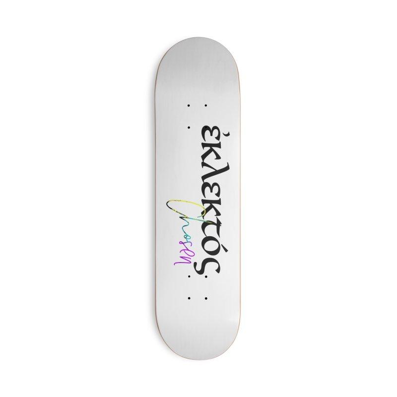 Eklektos - Chosen Accessories Deck Only Skateboard by XXXIII Apparel