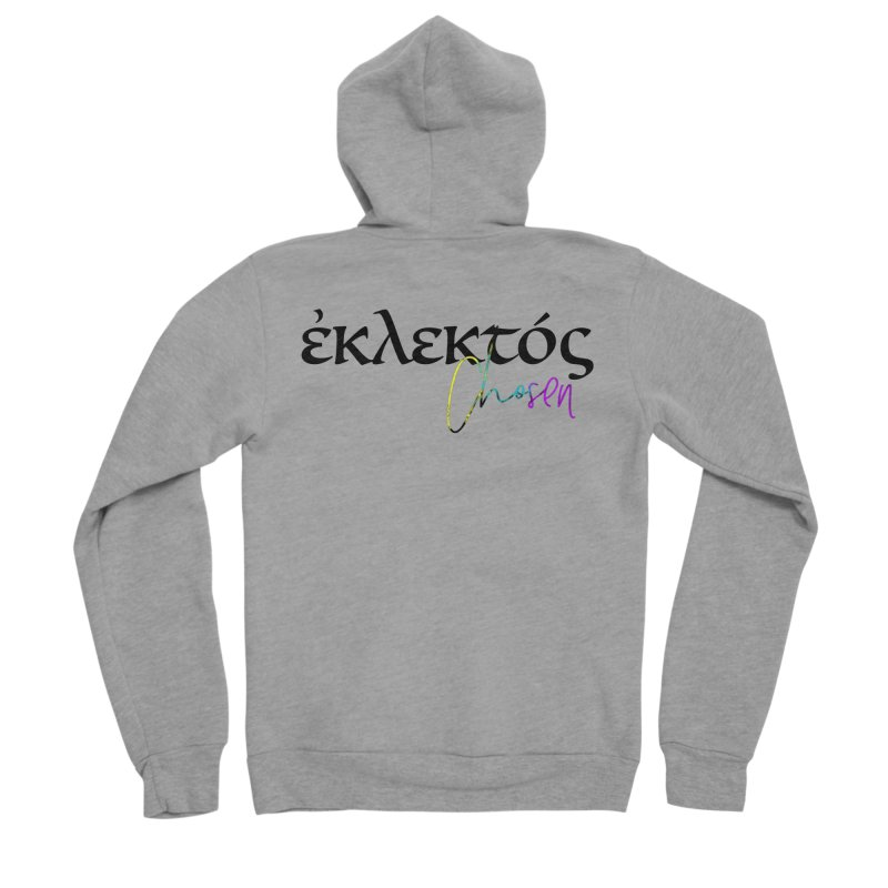 Eklektos - Chosen Women's Sponge Fleece Zip-Up Hoody by XXXIII Apparel