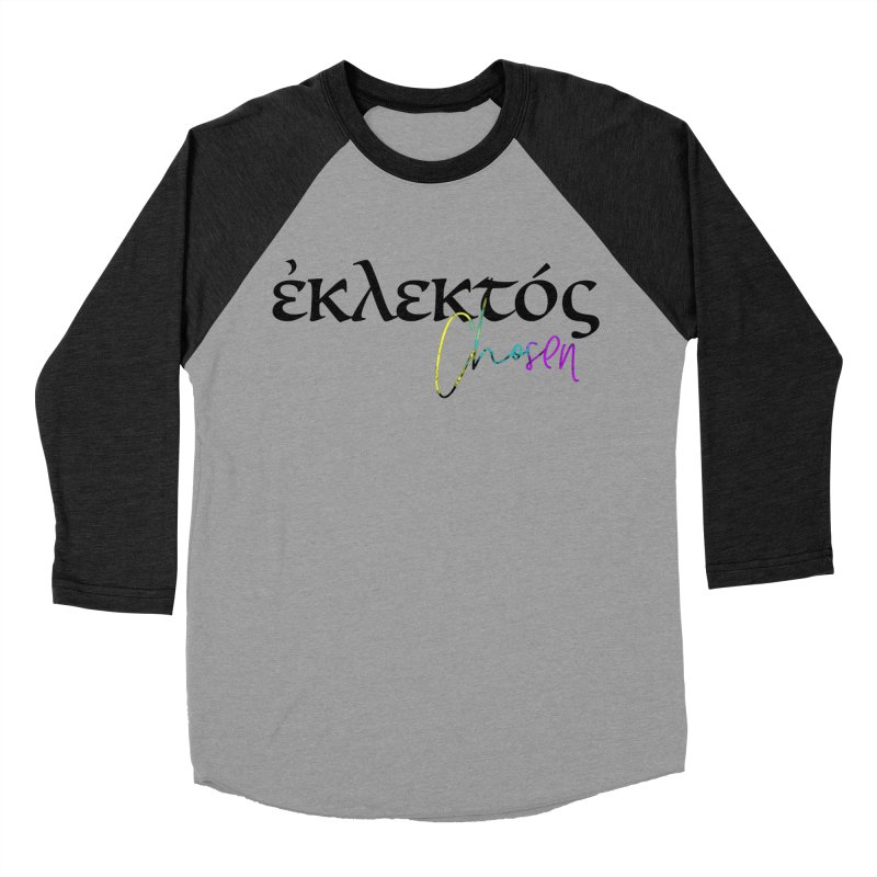 Eklektos - Chosen Women's Baseball Triblend Longsleeve T-Shirt by XXXIII Apparel