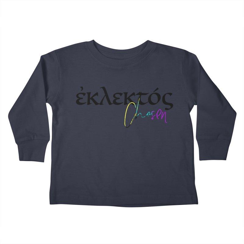 Eklektos - Chosen Kids Toddler Longsleeve T-Shirt by XXXIII Apparel