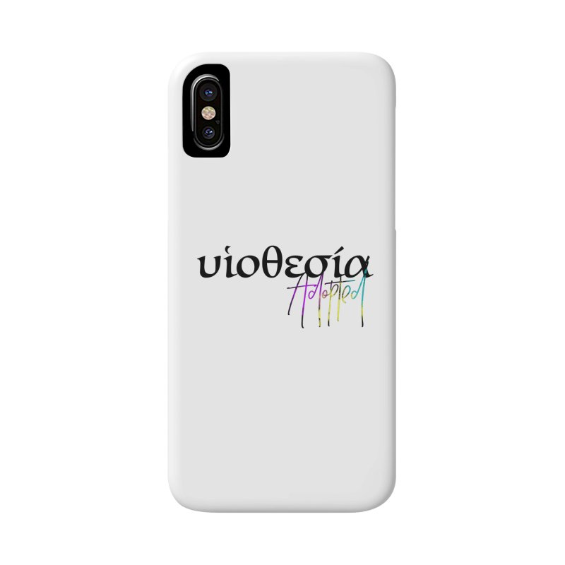 Huiothesia - Adopted Accessories Phone Case by XXXIII Apparel