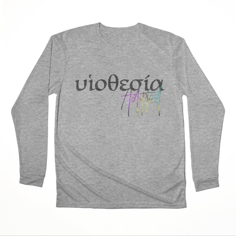 Huiothesia - Adopted Women's Performance Unisex Longsleeve T-Shirt by XXXIII Apparel
