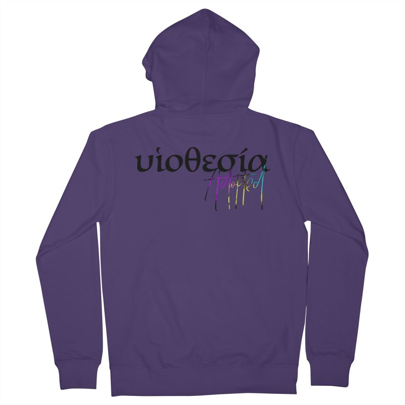 Huiothesia - Adopted Women's French Terry Zip-Up Hoody by XXXIII Apparel