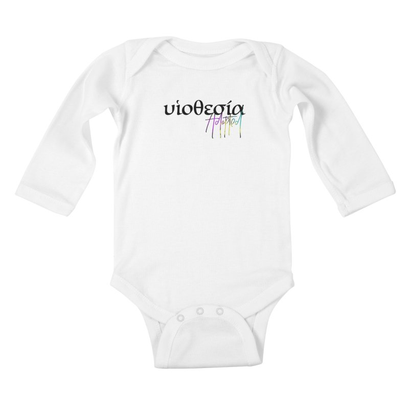 Huiothesia - Adopted Kids Baby Longsleeve Bodysuit by XXXIII Apparel