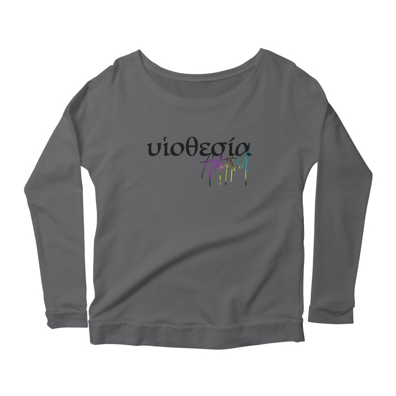 Huiothesia - Adopted Women's Scoop Neck Longsleeve T-Shirt by XXXIII Apparel