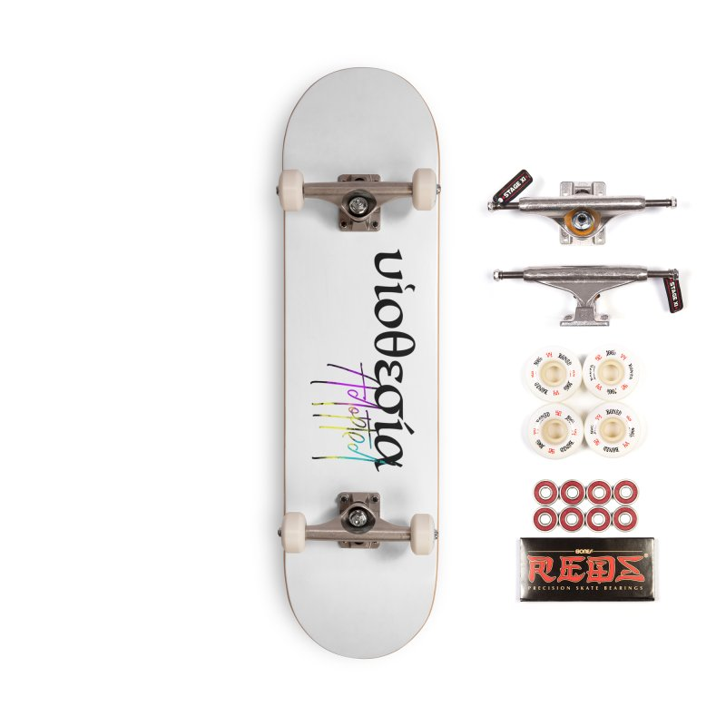 Huiothesia - Adopted (White) Accessories Complete - Pro Skateboard by XXXIII Apparel